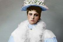 Empress Alexandra / Empress Alexandra Feodorovna of Russia, princess Alix of Hesse and by Rhine.