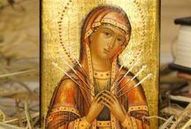 Blessed Virgin & Icons / More honorable than the Cherubim - Blessed Virgin Mary and christian Saints.