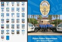 "Police Department ""Annual Reports"" / by Peoria Police Department"