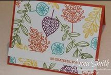 Cards - Stampin Up / Cards we can make with the Stampin Up stuff we have