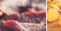 Dog Treat & Food Recipes / Healthy, nutritious and great DIY recipes you can make at home for your dog! Real food for your pup!
