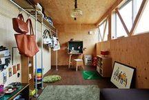 収納 : Storage room