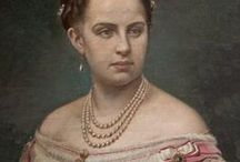 Queen Olga of Hellens / Russian imperial family. Grand Duchess Olga Konstantinovna of Russia, daughter of Grand Duke Konstantin of Russia. Greek royal family. Spose of Georg I of Greece.