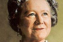 Queen Mum Elisabeth Bowes-Lyon