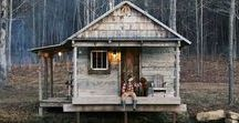 Cabin Living / We dig a cabin lifestyle with MattieDog - so cozy and dog friendly! Here's what we love in cabin life!
