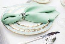 Wedding Décor / Wedding decorations, wedding decor, reception decorations, color palates, place settings, floral arrangements, wedding linens, cute wedding ideas!