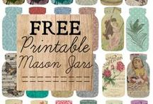 Printables / Free reprinting of patterns and other things / by Judi Jane