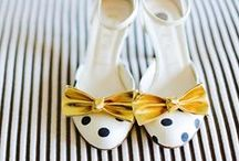 Wedding Shoes / Vintage Wedding Shoes to Modern Wedding Shoes: heels, lace, flats, and more! Unique and trendy shoes to go with any wedding dress