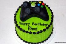 Video Game Party Ideas / Video Game theme cakes, games, invites, party favors, decorations for a birthday party