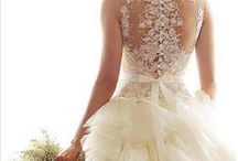 Wedding Dresses / Here are some beautiful wedding dresses we found on Pinterest...