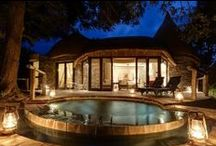 Safari Lodge: Wild Luxury / Tintswalo Safari Lodge, a decadently luxurious lodge situated in the beautiful wilderness of the Manyeleti Game Reserve. An unfenced neighbour to the Kruger National Park, the Manyaleti offers game viewing that, combined with the opulence of Tintswalo Safari Lodge, will leave guests with a most unforgettable Safari experience.   Where else in the world...?