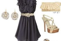 OUTFIT LALIS / Combinations of clothes, bags, shoes with jewels Lalis