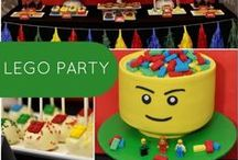 Lego Party Ideas / Lego theme birthday party ideas. Play 8 different Lego video games inside the Level Up Curbside Gaming luxury mobile theater during your video game party! LevelupNV.com