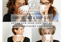 What's Up / Shots from the Soup Club Website