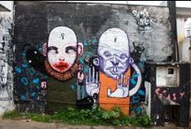 Street Art / Street Art Cave Paintings