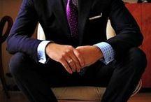 Haberdashery /  men's furnishings, as shirts, ties, gloves, socks, and hats.