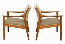 Gamle gode / Møbler / mid century furniture