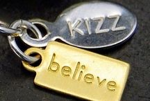 kIZZ dEsigns. / Handmade Jewelry by kIZZ.  Metals. Gems. Charms. Hearts. Crystals. Bracelets. Earrings. Necklaces. / by Jewelry News-Now