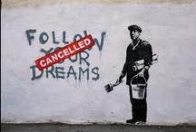 Street art / L'art qui se trouve dans les rues et qui me plaît.