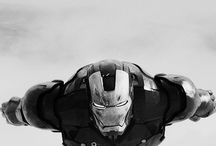 Man of Iron / Tony Stark, RDJ, Ironman -is there a difference? / by Moose