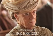 Downton Abbey in words
