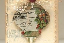Cards - Christmas - Ornaments