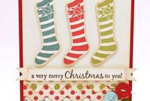 Cards - Christmas - Stockings
