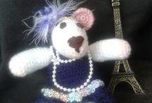 Amigurumis y crochet . Trabajos mios (Lna) y otros que intentar / Bonitos proyectos de crochet / by Elena Expósito