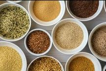 Great grains! / Seriously. Check out the nutritional content of these grains and tell us you don't want to re-organize your pantry so these unassuming but amazing grains are front and center. / by UK Health & Wellness