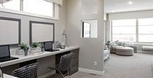 Offices and Entry Ways / Home offices and entry ways from Cardel Homes