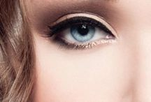 Make-up to impress / More emphasis on the eyes, stronger lines and colours.