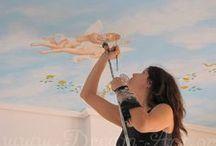 Dream-Art.gr Οροφογραφίες / Ζωγραφική σε οροφές για κάθε χώρο του σπιτιού ή του επαγγελματικού σας χώρου