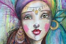Art - Girls / by Louise Lalande