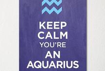 Aquarius.... With Capricorn on the cusp