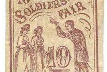 Soldiers Aid Societies, US Sanitary Commission, Sanitary Fairs / by Darline DeMott