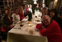 Seely & Durland Christmas Party 2015 / We were spoiled this year with an amazing six course meal at the beautiful Chateau Hathorn in Warwick, NY!