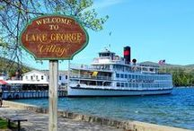 Lake George, NY / If you know anything about the Durland clan, you know that Lake George is one of their favorite places. Every summer, they spend a few weeks camping on one of the islands.  Here are just some of the reasons Lake George is so great!
