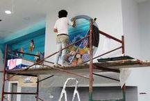 Dream-Art.gr Παιδότοποι, Παιδικοί Σταθμοί, Σχολεία / Ζωγραφική στον τοίχο