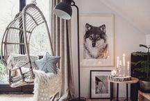 VS arm knitting / Chunky knit interior design