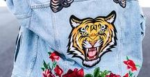 EMBROIDERED WITH LOVE / EMBROIDERED DENIM