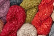 Håndarbeidsinspirasjon / Farger, mønstre, materialer og annet som inspirerer