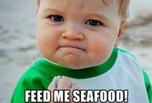 Kid Friendly Meals: Seafood! / Seafood and fish are high in omega-3s, vitamins, minerals, and protein. Studies have shown positive brain and eye development with seafood meals a couple of times a week.
