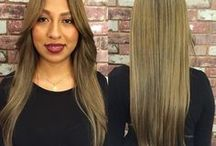 Long Hair / Long hair don't care! Long hair cuts with or without layers including chic blowouts and curly or wavy styles