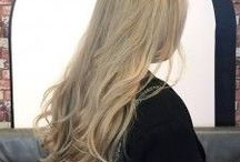 Blonde / From dirty blonde and rose gold to champagne beige and platinum, Seagull LOVES blondes. Natural balayage highlights and double-process BLEACH and tone!