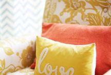 Casa della zia Laura / Idee x un piccolo appartamento a tutto colore!!!