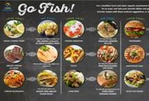 #Seafood2xWk / Healthy meal ideas to help you eat Seafood Twice A Week!