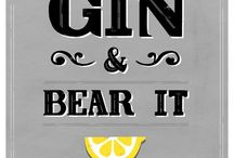 Gin / It's all about the gin