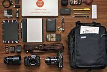 Photography Essentials / Random must- haves for photographers , what to pack for a photoshoot, what's in your camera bag ideas