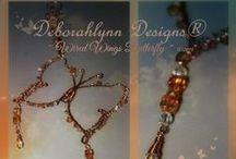 Wire Art Suncatchers by Deborahlynn Designs® / https://www.etsy.com/shop/DeborahlynnDesignz