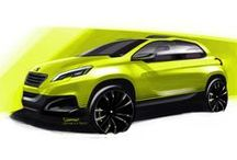 Sketches, renderings & models / Sketches, renderings & models. Mostly automotive and/or product related